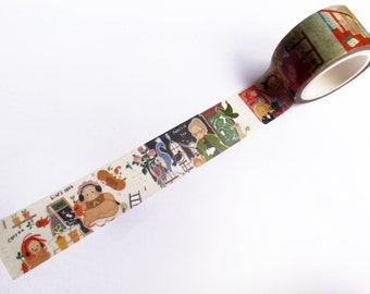 Limited Edition Harry Potter Kawaii Washi Tape Roll