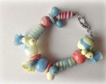 Baby colors bracelet