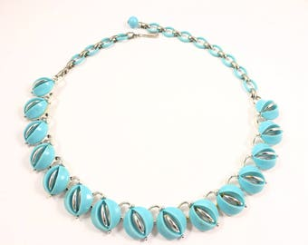borealis aurora layered bauble necklace fashion lucite set
