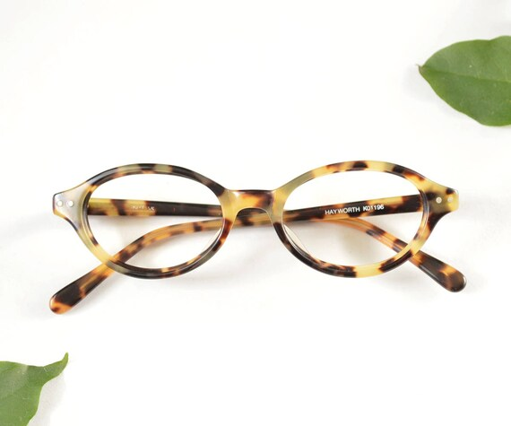 Vintage Glasses Frames Oval Glasses Prescription Eye