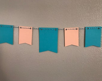 Square Pennant Banner / bunting - Mini