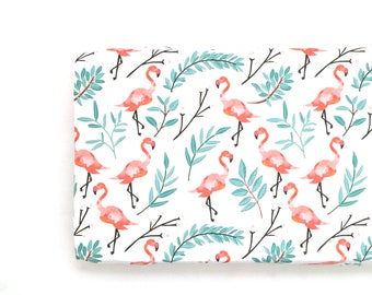 Changing Pad Cover Flamingos in Shade. Change Pad. Changing Pad. Flamingo Changing Pad Cover. Changing Pad Girl.