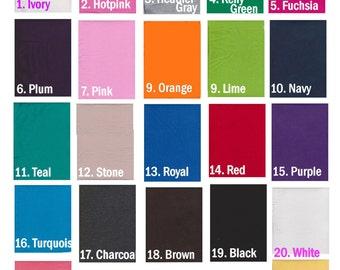 New! Mint  Cotton Lycra knit Solids 22 colors fabric