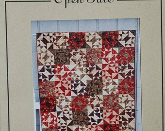 Quarter Turn Quilt Pattern by Open Gate, FREE SHIPPING with /Fabric Purchase