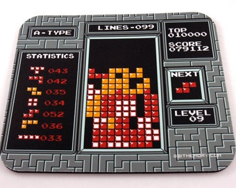 NES Mouse Pad - Tetris