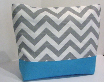 Set of 5 Chevron Beach Totes . DESIGN your OWN . standard size chevron Beach Bag . MONOGRAMMING Available
