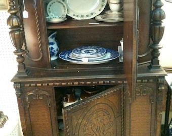 1940's antique cupboard