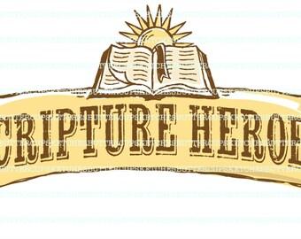 LDS Primary Scripture Heroes