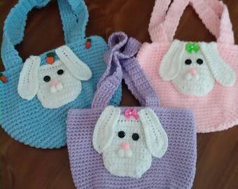 Bunny purses, Easter,  little girls