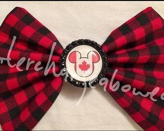Canada Mickey bow