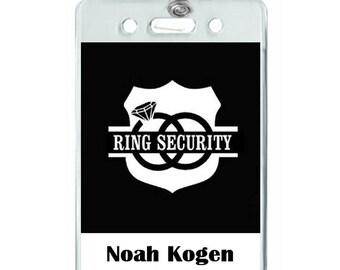 ring bearer personalized alternative gift for ring bearer