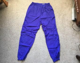 Men's Vintage 90s Reebok Windbreaker Jogger Sweatpants Size Large