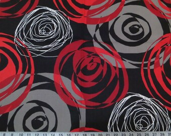 Right On Red cotton fabric by the yard Magnolia Home Fashions