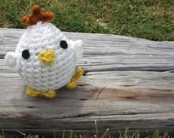 Easter Chick Amigurumi Spring Chick Easter Chick Crochet Doll Plushie