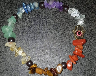 Chakra balancing bracelets and Necklaces
