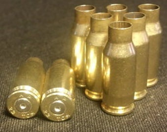 100 rounds once fired, unprocessed 22 TCM brass