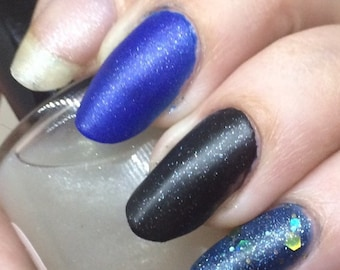 Splendid Nail Polish - frosted glass matte top coat