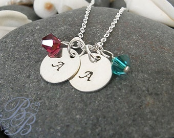 Personlized Jewelry - Hand Stamped Jewelry - Mother's Necklace