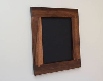 Walnut 8x10 Wood Picture Frame