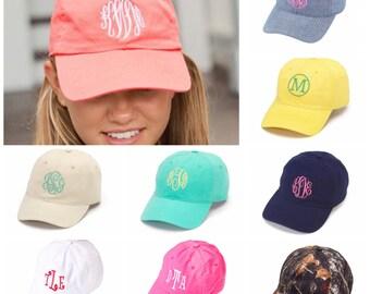 Monogrammed Baseball Hat/Cap