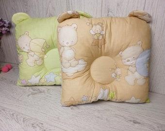 Bear pillow,Newborn pillow,Swaddle pillow,Bed pillow,Baby pillow,Gift pillow,Soft toy baby,Crib bedding,Newborn gift,Bedding,Custom pillow