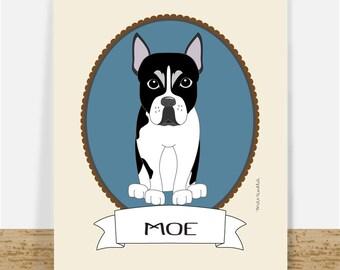 Custom Pet Portrait - Custom Dog Portrait - Personalized Pet Portrait - Printable Pet Drawing - Pet Memorial - Birthday Gift For Pet Lovers