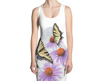 Eastern Tiger Swallowtail Dress