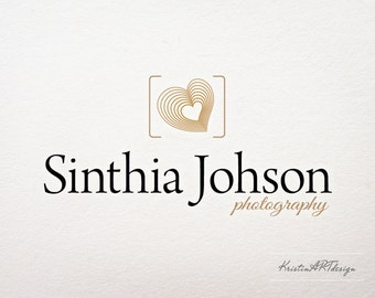 Photography Logo - Customized for any business logo - Premade Photography Logos - Watermark