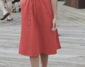 Carriage Court Gigi Wrap Skirt