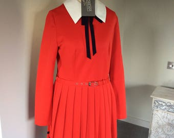 Vintage 1980s St Michael secretary dress UK 12