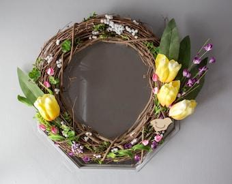 Spring Flower Budding Wreath