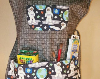 Children's Space Artist Smock Set