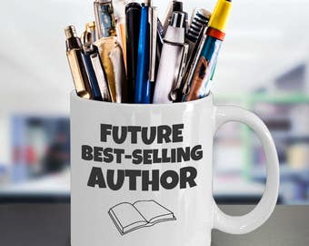 Bookworm Mug - a booklover gift - best selling author - bestselling author