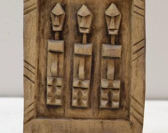 African Dogon Door Carved Wood Granary Door Dogoan Tribe Mali Dogon Granary Door & Dogon door | Etsy
