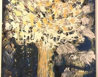 Sacred tree of hope - original acrylic painting