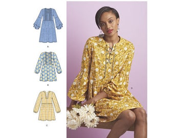 Simplicity Pattern 8551 Misses' Dress or Tunic