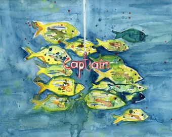 Captain (Original Painting)