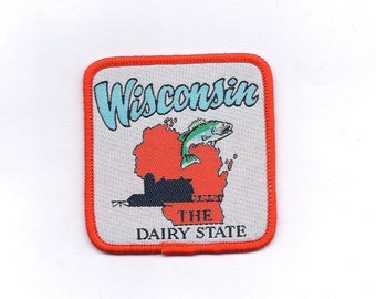 Vintage Wisconsin State Patch
