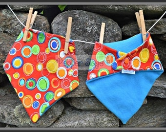 Bandanna Bibs - Set of Five