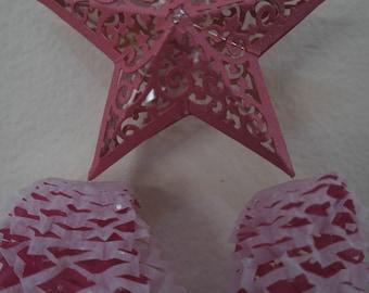 One 6 x 12 inches Miniature Filipino Paper Christmas Lantern AKA Parol - Christmas Tree Ornaments