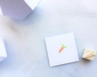Vegetarian meal option, rubber stamp, hand carved rubber stamp, wedding meal option, food option, vegetable, veggie