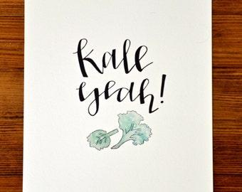 Kale Yeah   Kitchen Collection Digital Print (8 x10)