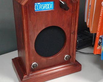 Price Drop!! Dab Plus Digital and FM Radio, Vintage, Cathedral Style, Hand Made