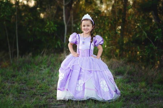 sc 1 st  Etsy & Sofia Dress / Disney Princess Dress Inspired Sofia the First