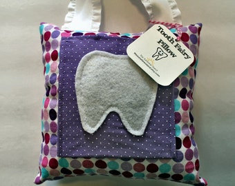 Tooth Fairy Pillow - Tooth Holder - Tooth Fairy - Children's Gift - Girls Tooth Fairy Pillow - Tooth Storage