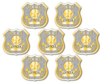 DIGITAL DOWNLOAD Printable Police Badge