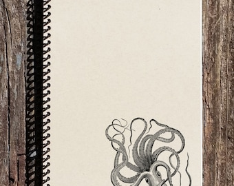 Octopus Journal - Octopus Notebook - Ocean Notebook