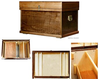Tack Trunk, large size, Signature (trimmed in birch)