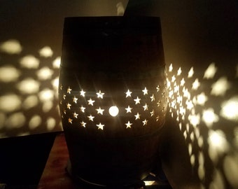 SALE - Starlit Night Wine Barrel Patio Party