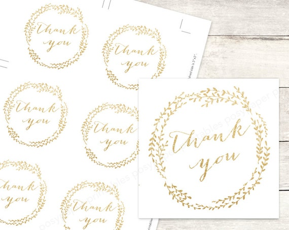 Free Printable Wedding Gift Tags: Gold Bridal Shower Favor Tags Printable DIY Wedding Shower